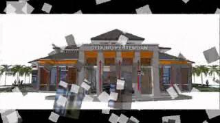 preview picture of video 'Gedung Pertemuan Kabupaten Sragen'