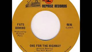 Fats Domino - One For The Highway - early May 1968