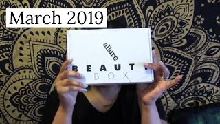 Allure Beauty Box Unboxing | March 2019
