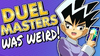Duel Masters Was Weird (Surprisingly Not a YU-Gi-Oh Clone) | Billiam