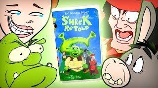 Shrek Retold VHS