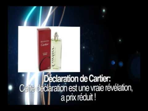 Parfum CARTIER DÉCLARATION EAU DE TOILETTE 150ML NEUF ET SOUS BLISTER