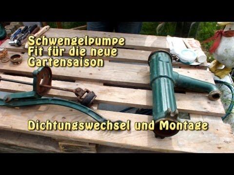 Schwengelpumpe  Fit für die neue Gartensaison