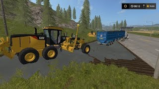 Laying Asphalt   Lawn Care   Farming Simulator 2017   Episode 14