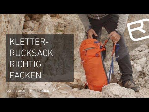 Tipps & Tricks: Kletterrucksack richtig packen - Tutorial (8/43) | LAB ROCK