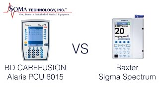 Differences Between the BD Carefusion Alaris PCU 8015 and the Baxter Sigma Spectrum