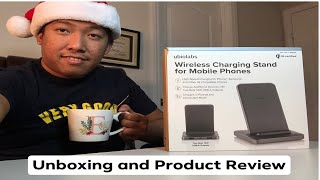 Unboxing Ubiolabs Wireless Charging Stand and Product Review