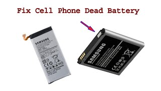 How to Fix Reuse Cell Phone Dead Battery, awesome diy idea