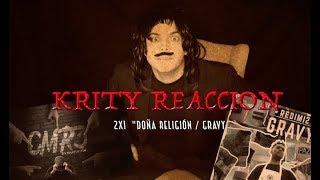 Krity Reacción 2x1 / Doña Religión - Alex Zurdo  &  Gravy - Redimi2