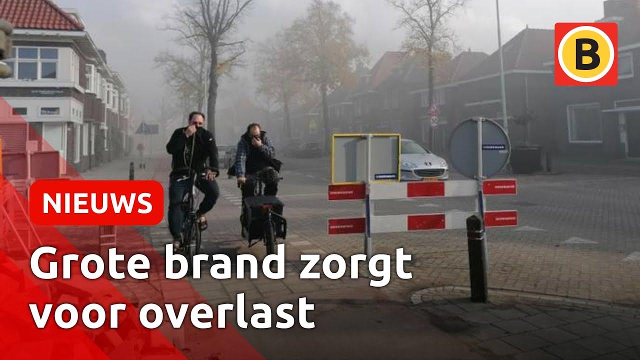 Straten vol rook door brand Eindhoven | Omroep Brabant
