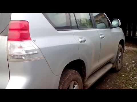 Toyota Land Cruiser 150 Prado замена задних колодок