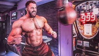 Bodybuilder vs Strongman vs MMA! 999 Boxautomat Challenge! feat. Flying Uwe