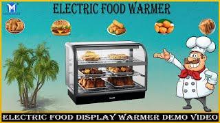 इलेक्ट्रिक फ़ूड डिसप्ले वार्मर    Electric Food Display Warmer Patties, Samosa Hot Case 🌭🌭