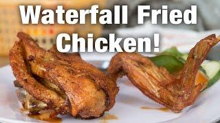 Unique Saigon Street Food - Waterfall Fried Chicken!