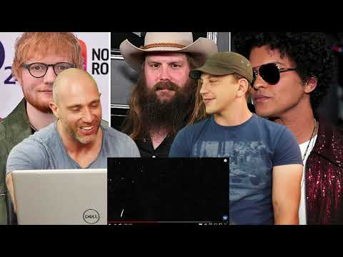 Ed Sheeran BLOW (with Chris Stapleton & Bruno Mars) (REACTION!!!) - Rock Reacts