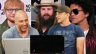 Ed Sheeran BLOW (with Chris Stapleton & Bruno Mars) (REACTION!!!)