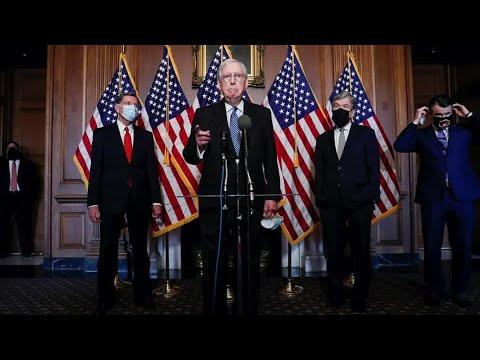 McConnell delays vote on $2000 checks, urges defense veto override