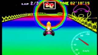 MK64 - former world record on Rainbow Road - 5'53''12 (NTSC: 4'53''68)