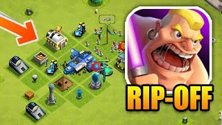 HILARIOUS Clash of Clans Rip-off!   Exact Copy of CoC!