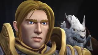 Battle for Azeroth Cinematics and Cutscenes - Jaina and the Alliance at Lordaeron (Chinese Dubbed)