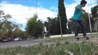 preview picture of video 'Thiago Ghibaudo Farias - (2° parte) - Bragado skate'