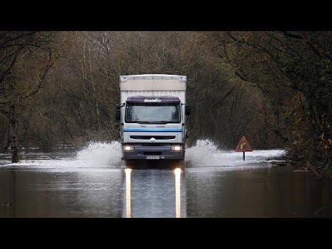 Την Ιβηρική Χερσόνησο σάρωσε η καταιγίδα «Έλσα»
