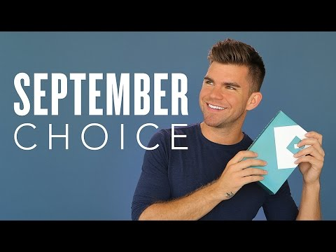 September 2015 Birchbox Man Sample Choice Reveal