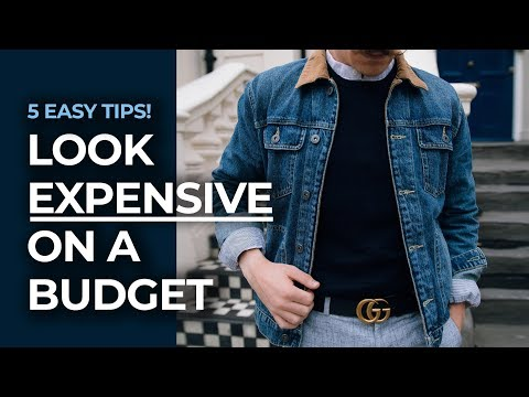 How To Look Expensive on A Budget! | Men's Fashion Tips