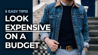 How To Look Good on A Budget!   Men's Fashion