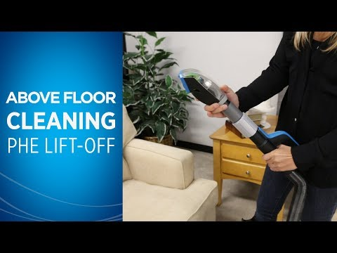 How to use Your Pet Hair Eraser® Lift-Off® for Above Floor Cleaning  Video