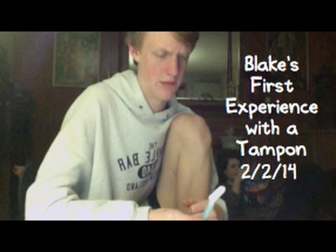 2/2/14 - Blake's First Tampon
