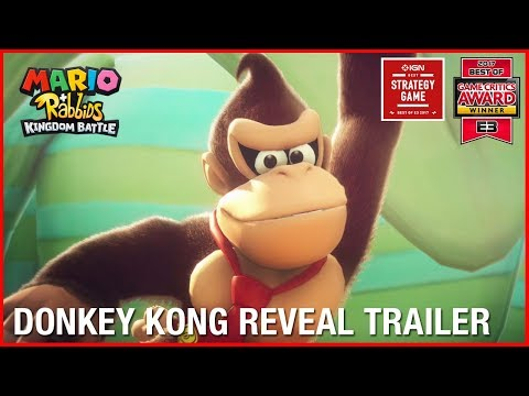 Donkey Kong Reveal Trailer