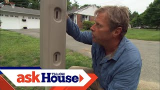 How to Replace a Mailbox Post | Ask This Old House