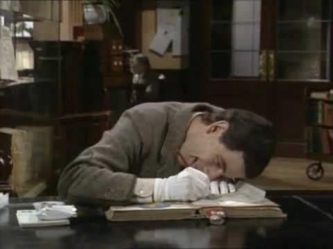 Mr.Bean ở thư viện. Có thể nhiều bạn chưa được xem tập này