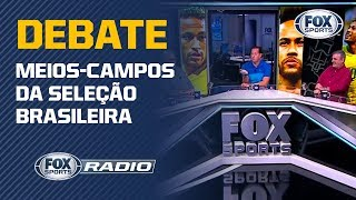 """EXCESSO DE VOLANTES? Meio-campo de Tite é tema de debate no """"FOX Sports Rádio"""""""