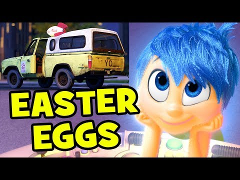 Every Pizza Planet Truck Easter Egg in Inside Out | MTW