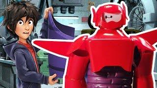 Big Hero 6 Robot DIY ft. Baymax and littleBits | Disney