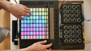 Ableton Push: Live Performance/Improvisation