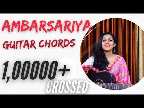 Ambarsariya Guitar Chords Lesson | Simple Lesson | Sona Mohapatra (Fukrey)