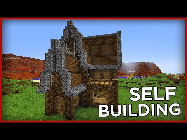 Self building House in Minecraft One Command! - Cimap