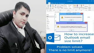 Increase the Outlook Attachment Size Limit