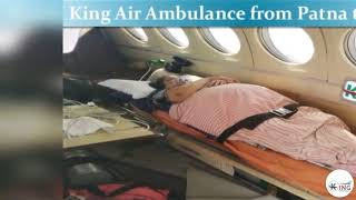 Take on Low Cost King Air Ambulance Service in Delhi