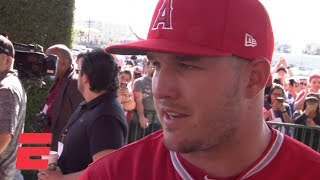 Mike Trout 'excited' about next 12 years after signing $430 million deal with the Angels   MLB Sound
