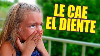 A GISELE SE LE CAE EL DIENTE + REACCION REGALO 😱🎁!! Itarte Vlogs