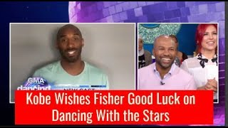 Kobe Bryant Funny Message to Derek Fisher Dancing With the Stars