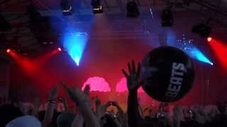 Dada Life - Intro & Everything Is Free LIVE (MTV Mobile Beats Festival Cologne 2013) HD