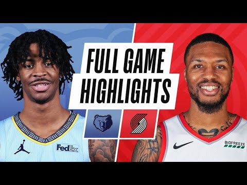 GRIZZLIES at BLAZERS | FULL GAME HIGHLIGHTS | April 25, 2021