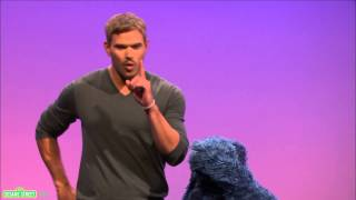 Sesame Street: Kellan Lutz and Cookie Monster -- Vibrate