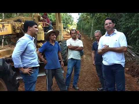 Prefeito Arizinho de São Lourenço da Serra fala Manutenção de estradas, e recuperação das máquinas.