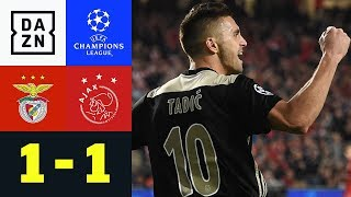 Dusan Tadic Bringt Bayern Auf Achtelfinal-Kurs: Benfica – Ajax 1:1 | Champions League | Highlights